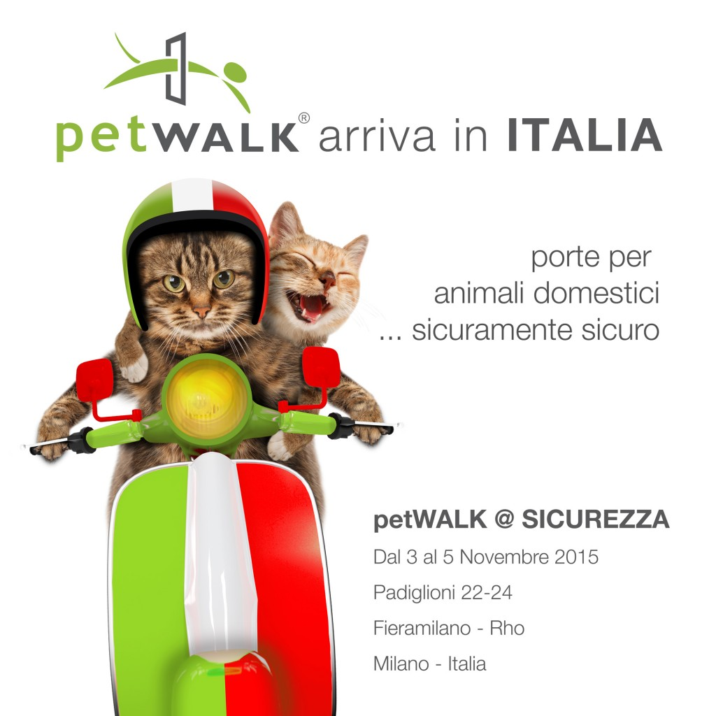 petWALK arriva in Italia